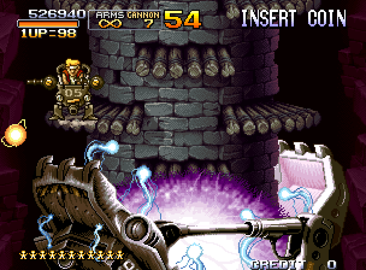 Metal Slug 2 End Boss